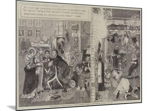 The Choice of Paris, an Idyll--Mounted Giclee Print