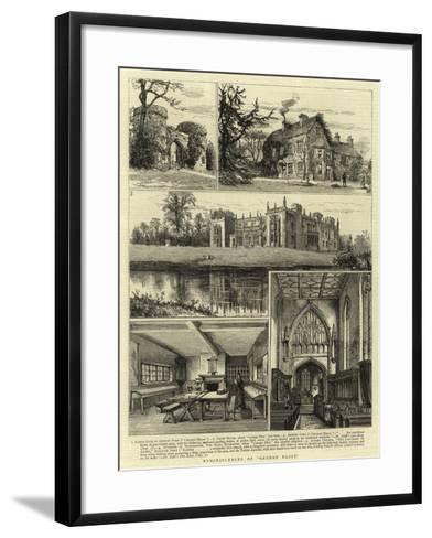 Reminiscences of George Eliot--Framed Art Print