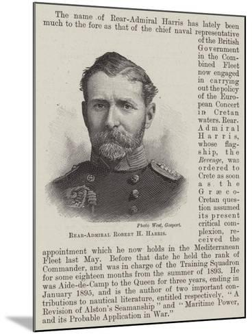 Rear-Admiral Robert H Harris--Mounted Giclee Print