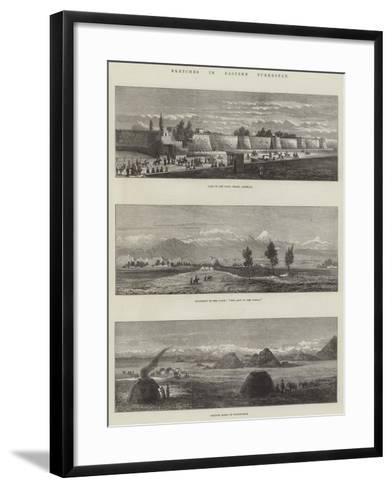 Sketches in Eastern Turkestan--Framed Art Print