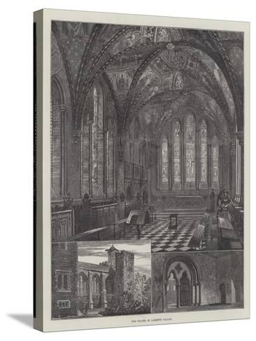 The Chapel of Lambeth Palace--Stretched Canvas Print
