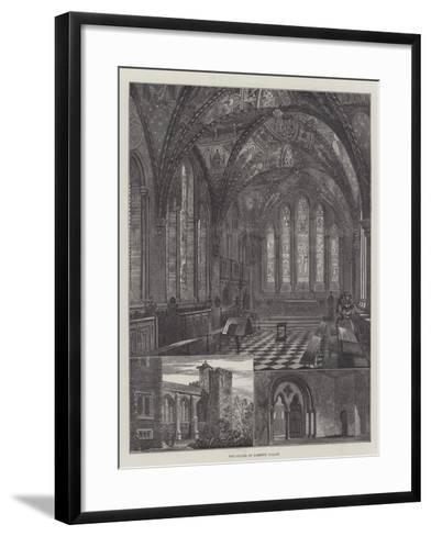 The Chapel of Lambeth Palace--Framed Art Print
