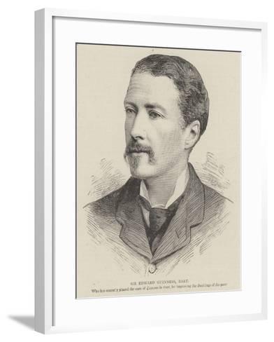 Sir Edward Guinness, Baronet--Framed Art Print