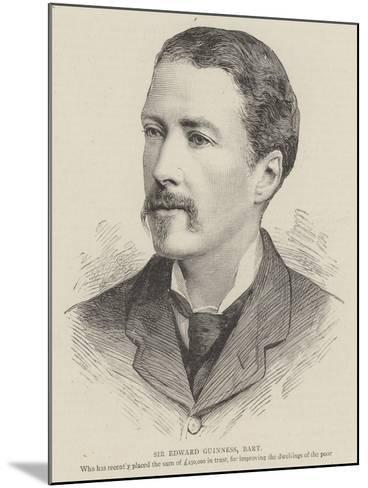 Sir Edward Guinness, Baronet--Mounted Giclee Print