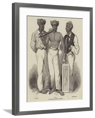 South Sea Islanders at Sydney--Framed Art Print