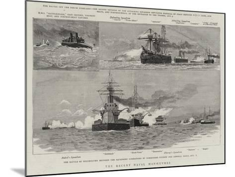 The Recent Naval Manoeuvres--Mounted Giclee Print