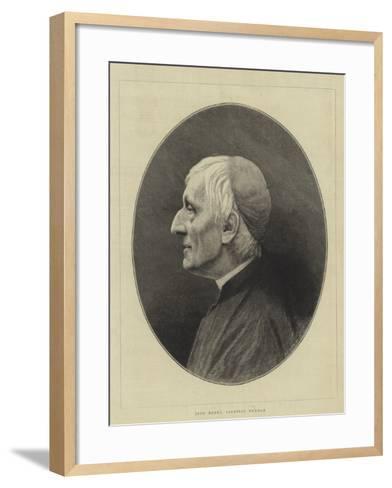 John Henry, Cardinal Newman--Framed Art Print