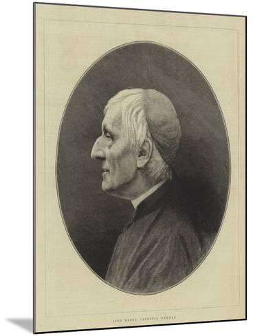 John Henry, Cardinal Newman--Mounted Giclee Print