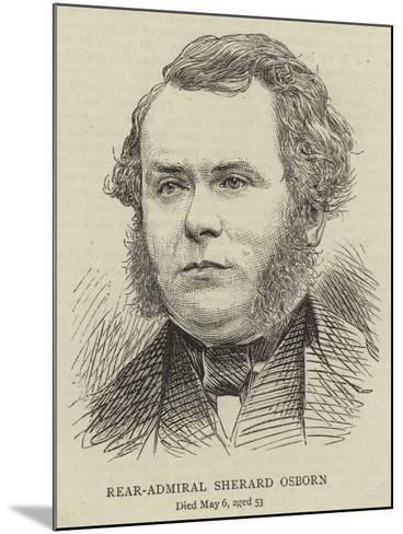 Rear-Admiral Sherard Osborn--Mounted Giclee Print