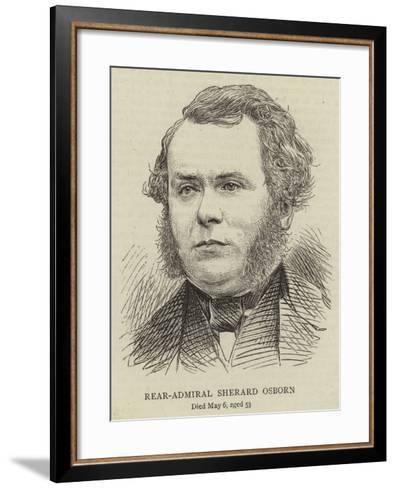 Rear-Admiral Sherard Osborn--Framed Art Print