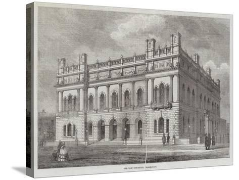 The New Townhall, Blackburn--Stretched Canvas Print