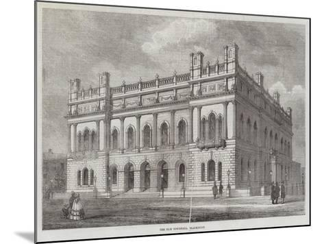 The New Townhall, Blackburn--Mounted Giclee Print