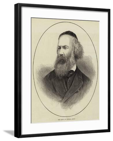 The Late F W Topham, Artist--Framed Art Print