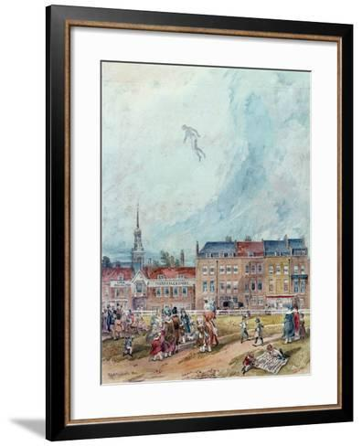 An Aerial Guy Fawkes, 1840--Framed Art Print