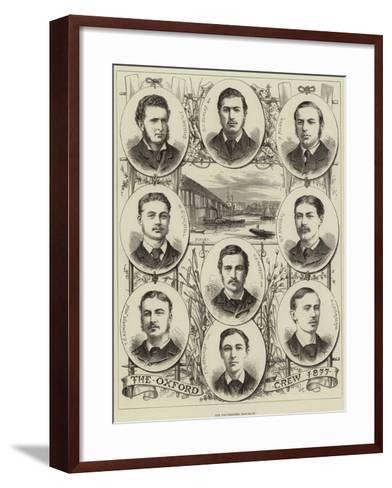 The Universities Boat-Race--Framed Art Print