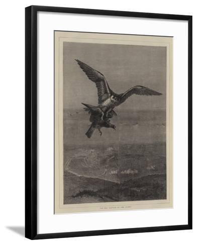 In the Clutch of the Enemy--Framed Art Print