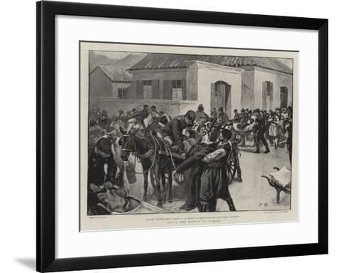 After the Battle of Domoko--Framed Art Print