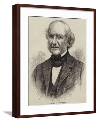 The Late Mr George Peabody--Framed Art Print