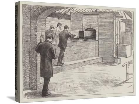 The Crematorium at Woking--Stretched Canvas Print