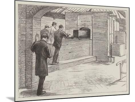 The Crematorium at Woking--Mounted Giclee Print