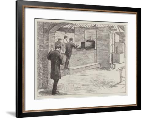 The Crematorium at Woking--Framed Art Print