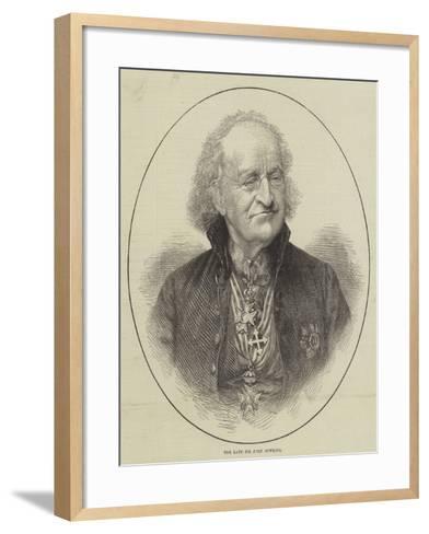 The Late Sir John Bowring--Framed Art Print