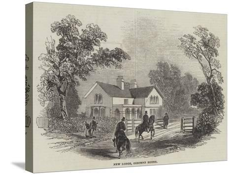 New Lodge, Osborne House--Stretched Canvas Print