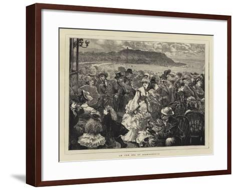 On the Spa at Scarborough--Framed Art Print