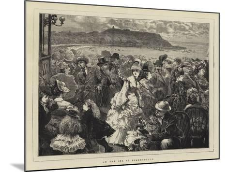 On the Spa at Scarborough--Mounted Giclee Print