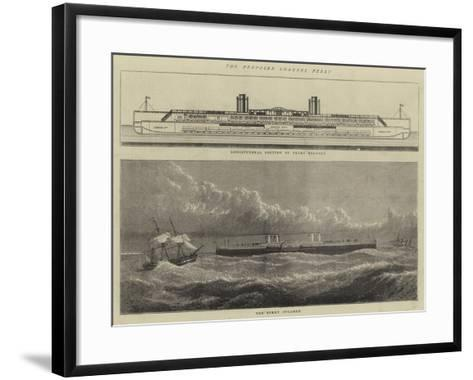 The Proposed Channel Ferry--Framed Art Print