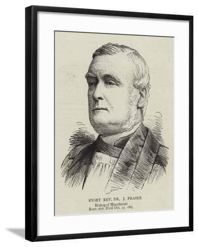 Right Reverend Dr J Fraser--Framed Art Print