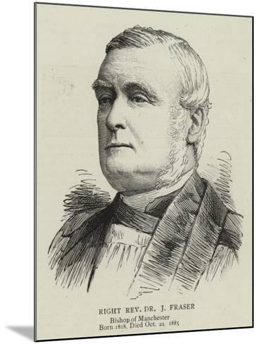 Right Reverend Dr J Fraser--Mounted Giclee Print