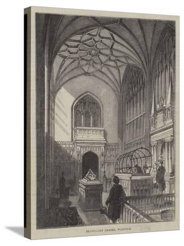 Beauchamp Chapel, Warwick--Stretched Canvas Print