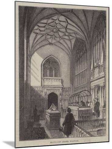 Beauchamp Chapel, Warwick--Mounted Giclee Print