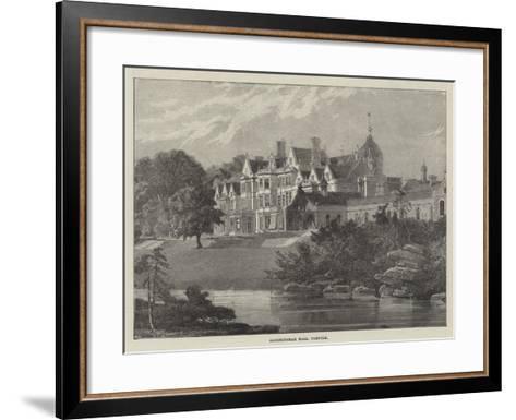 Sandringham Hall, Norfolk--Framed Art Print