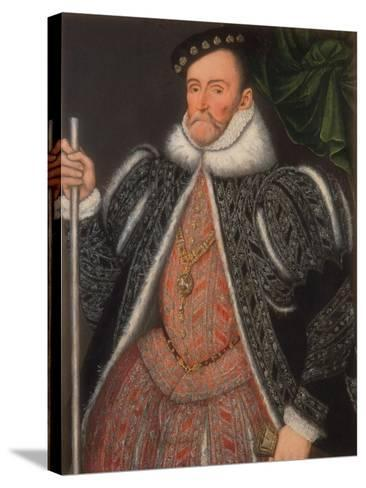 1st Earl of Pembroke, 1567--Stretched Canvas Print