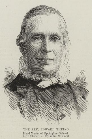 The Reverend Edward Thring--Stretched Canvas Print