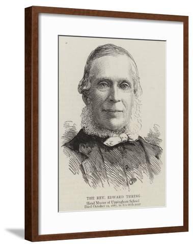 The Reverend Edward Thring--Framed Art Print
