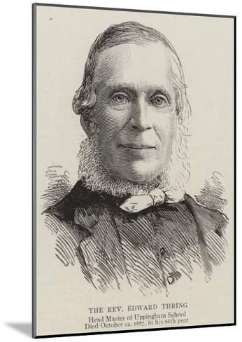 The Reverend Edward Thring--Mounted Giclee Print
