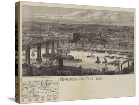 Newcastle Upon Tyne, 1887--Stretched Canvas Print