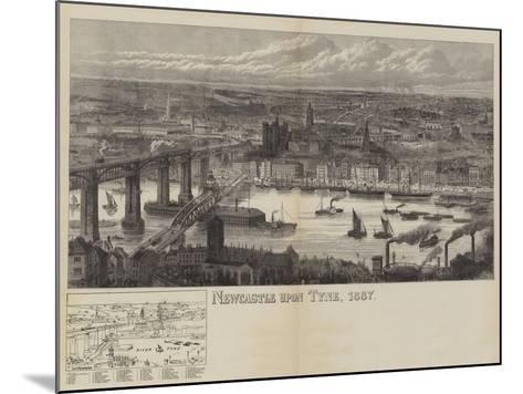 Newcastle Upon Tyne, 1887--Mounted Giclee Print