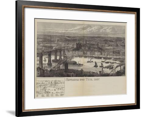 Newcastle Upon Tyne, 1887--Framed Art Print