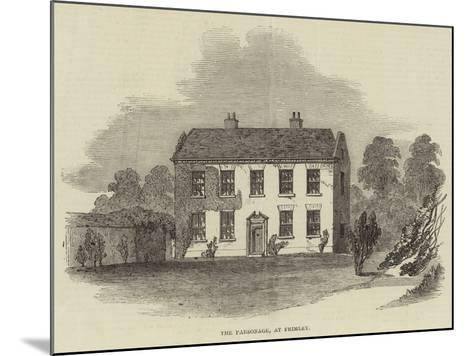 The Parsonage, at Frimley--Mounted Giclee Print