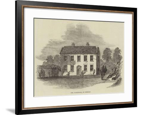 The Parsonage, at Frimley--Framed Art Print