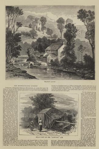 The Derwentwater Estates--Stretched Canvas Print