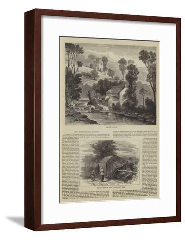 The Derwentwater Estates--Framed Art Print