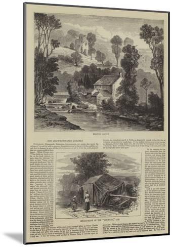 The Derwentwater Estates--Mounted Giclee Print