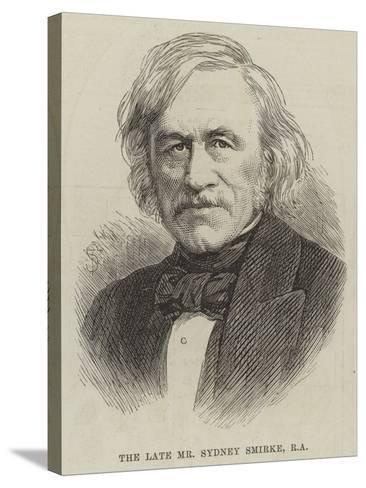 The Late Mr Sydney Smirke--Stretched Canvas Print