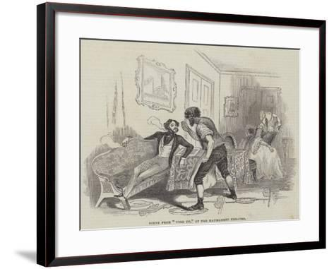 Performing Arts in London--Framed Art Print