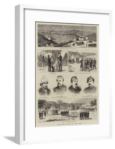 With the Turks, on the Lom--Framed Art Print
